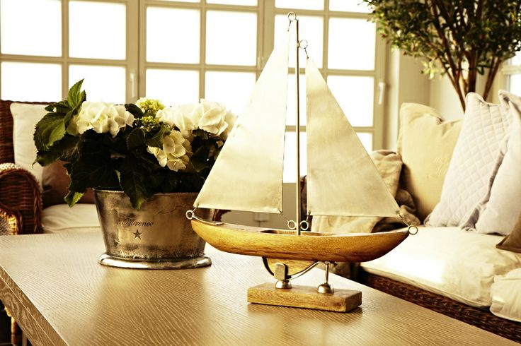 ... Florence Boat in steel and wood!  Wish it - dream it - do it!