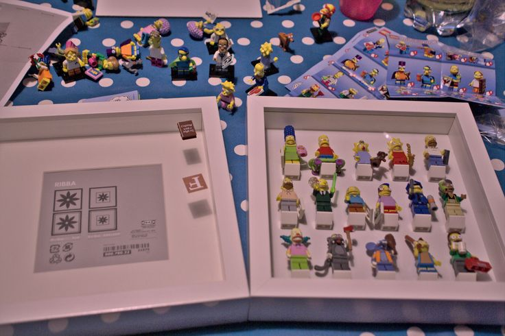 How to RIBBA LEGO DIY Display Frame for Minifigures. Every step and full shopping list.