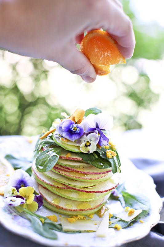 Fruit & Flower Tower Recipe