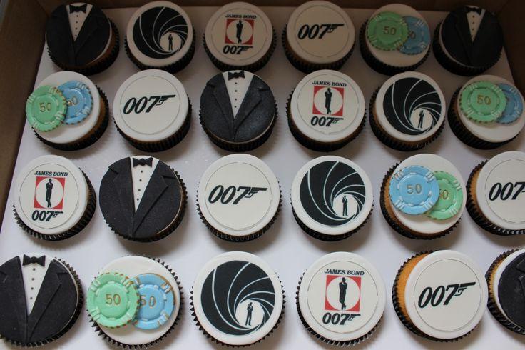 james bond cupcake theme ideas - Google Search