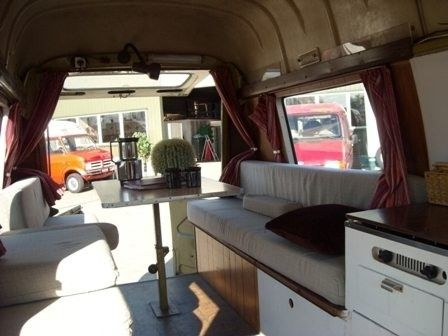 25 beste idee n over vintage camper interieur op pinterest for Interieur estafette