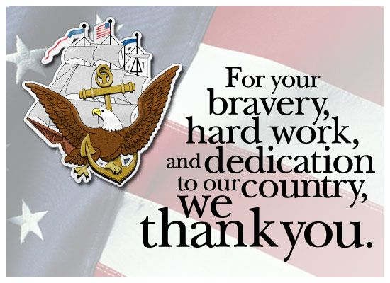 Navy Veterans Day Poem | MyFunCards | Thanks - Navy - Send Free Holidays eCards, Veterans Day ...
