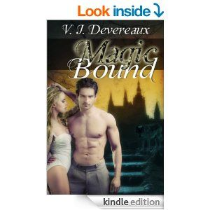 Magic Bound (Bound series Book 2) by V. J. Devereaux. Homicide Detectives Sasha Gutierrez and Rafi Stratford are investigating a series of murders that appear to have been committed by paranormals. A werewolf himself, Sasha knows neither his people nor vampires were the killers, despite the evidence. Desperate for clues they turn to Rhian Lewis, the proprietor of an occult bookstore...and a witch. What she discovers turns them all into targets... http://www.amazon.com/dp/B00E9K18YY