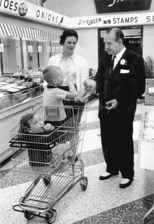 George Jenkins, Founder of Publix Supermarkets, 1961.