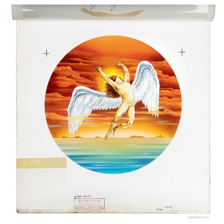 "The Led Zeppelin ""Swan Song"" Records Logo | FeelNumb.com"