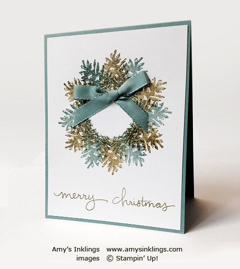 Stampin Up! Ornamental Pine at Amys Inklings