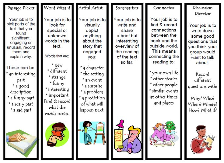 In the literature circle, students may take roles, such as cheerer of reading, summarizer, discussion director, etc. These roles can encourage students to actively attend the communication.