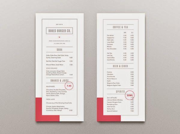 best 25 menu design ideas on pinterest menu layout