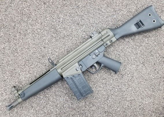 PTR-91 SBR A modified version of the standard PTR-91, it is a  308