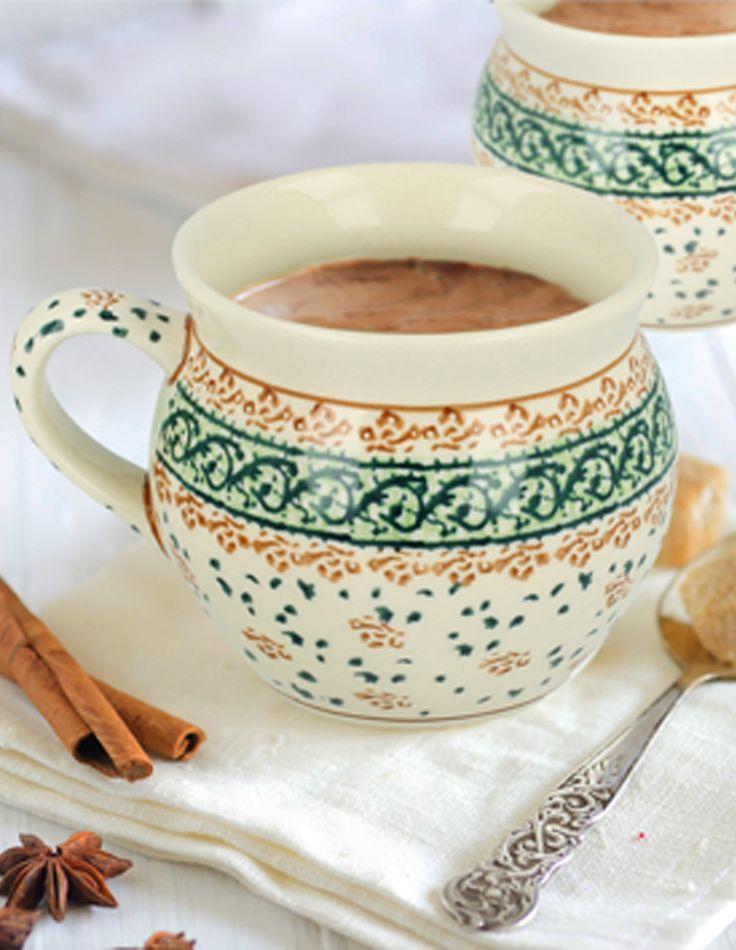 Ceramic mug. Ideal to serve coffee, tea, mulled wine or hot beer.