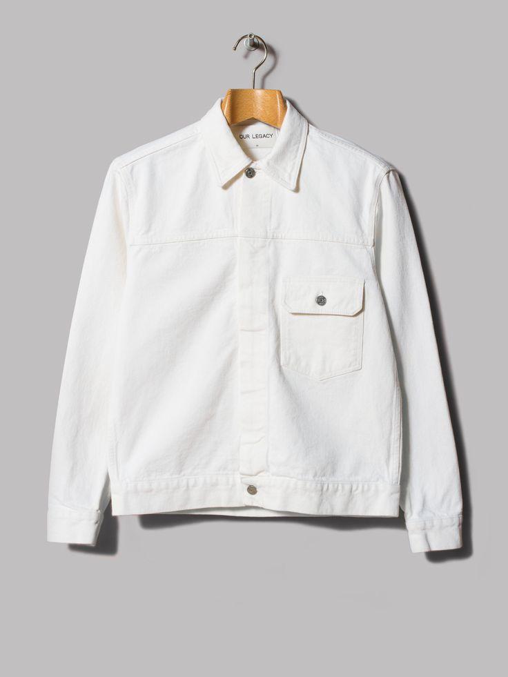 Our Legacy Hidden Zip Jean Jacket