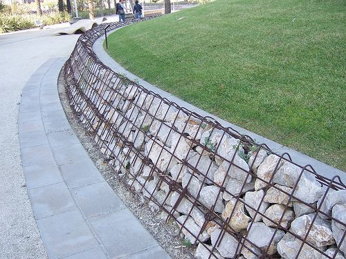 116 best Landscape Design Gabions images on Pinterest Gabion
