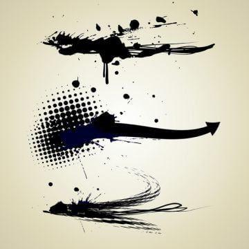 الجرونج مجموعة Abstract Art Artistic Png صورة للتحميل مجانا In 2020 Texture Vector Abstract Ink Splatter