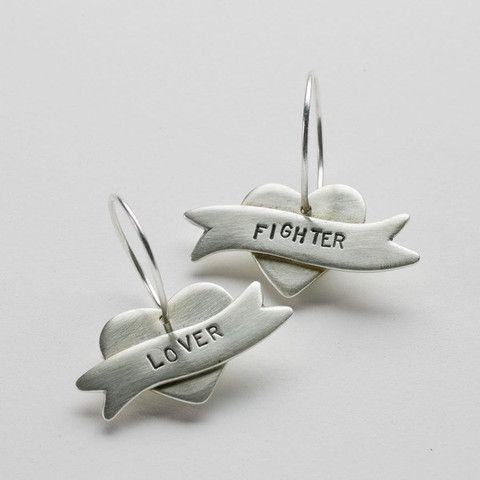 Lover/Fighter Earrings