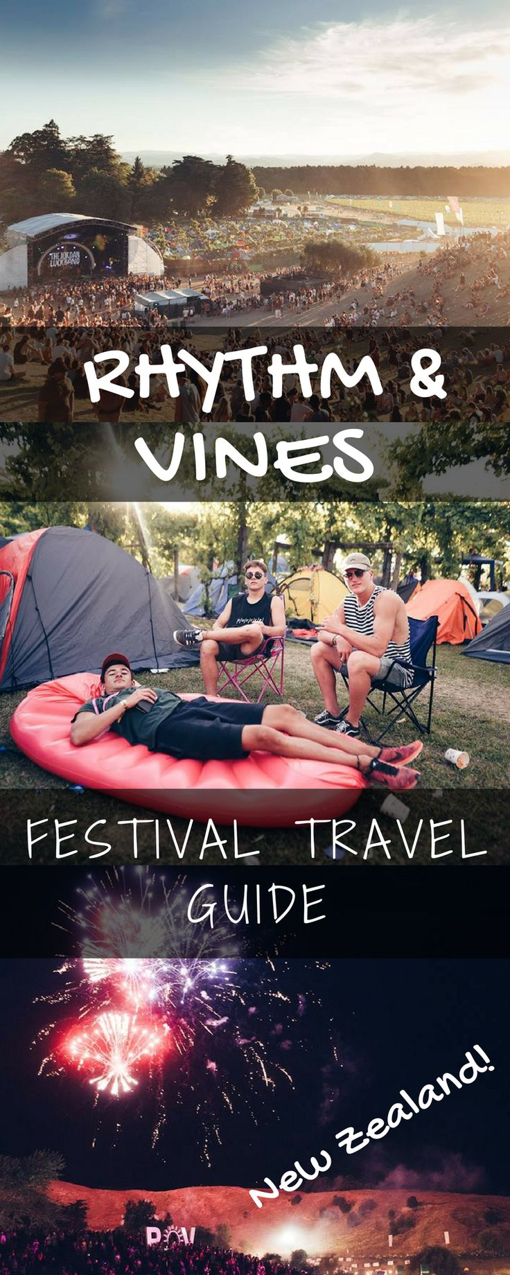 Rhythm & Vines: A festival in New Zealand in a vineyard. Learn about the festival, travel, and more.
