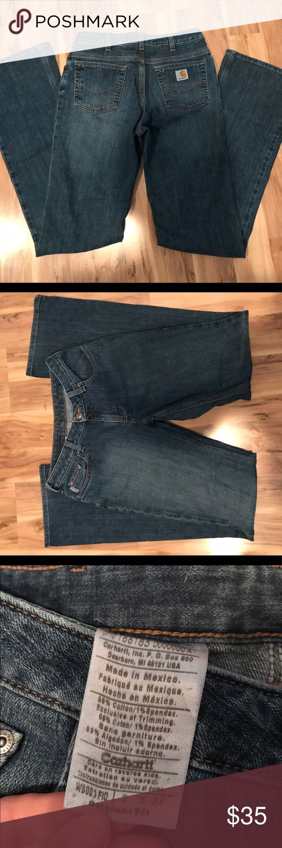 Carhartt Jeans Smoke free home, jeans in Excellent condition. Only worn a few times. Carhartt Jeans Boot Cut