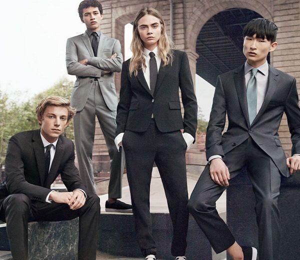 In 1966 ontwierp Yves Saint Laurent de eerste smoking voor de vrouw, in 2015 is Cara Delevingne het eerste vrouwelijke model die de mannencollectie van een groot merk promoot.