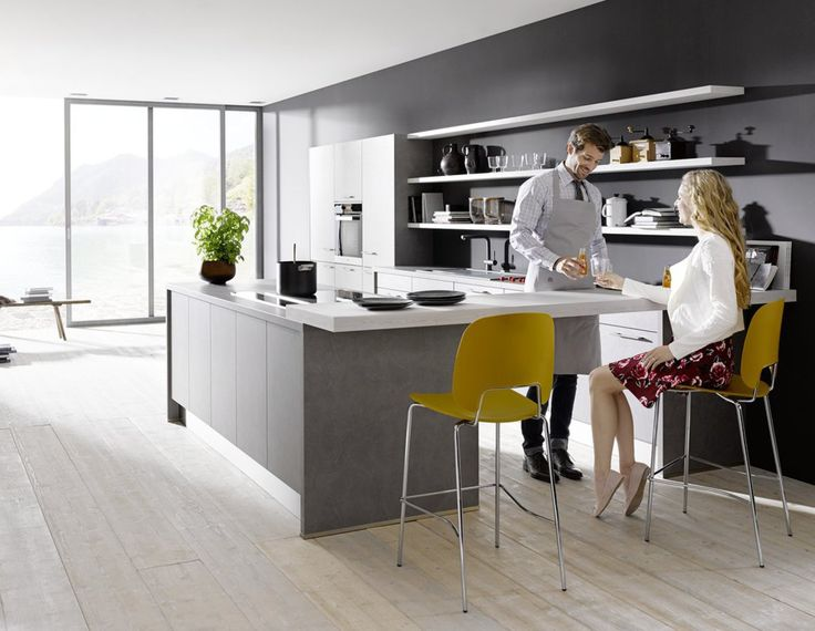 10 best Handleless kitchens from Contur German kitchens images on - landhauskche mit kochinsel