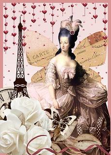 Marie Antoinette Celebrate ATC by wendyofva, via Flickr