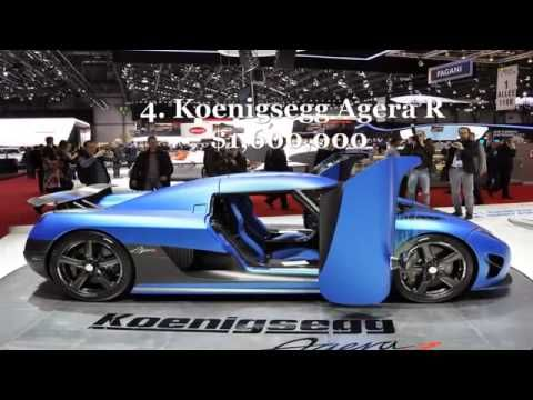 TOP 10 Most expensive Cars in the World - YouTube