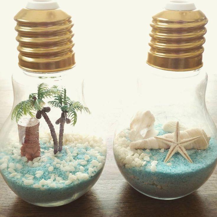 【100均DIY】作って飾って2度楽しむ夏のインテリア小物作り♪ | Handful