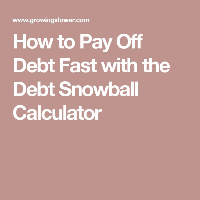 17 Best Images About Debt Snowball On Pinterest | Student Loans