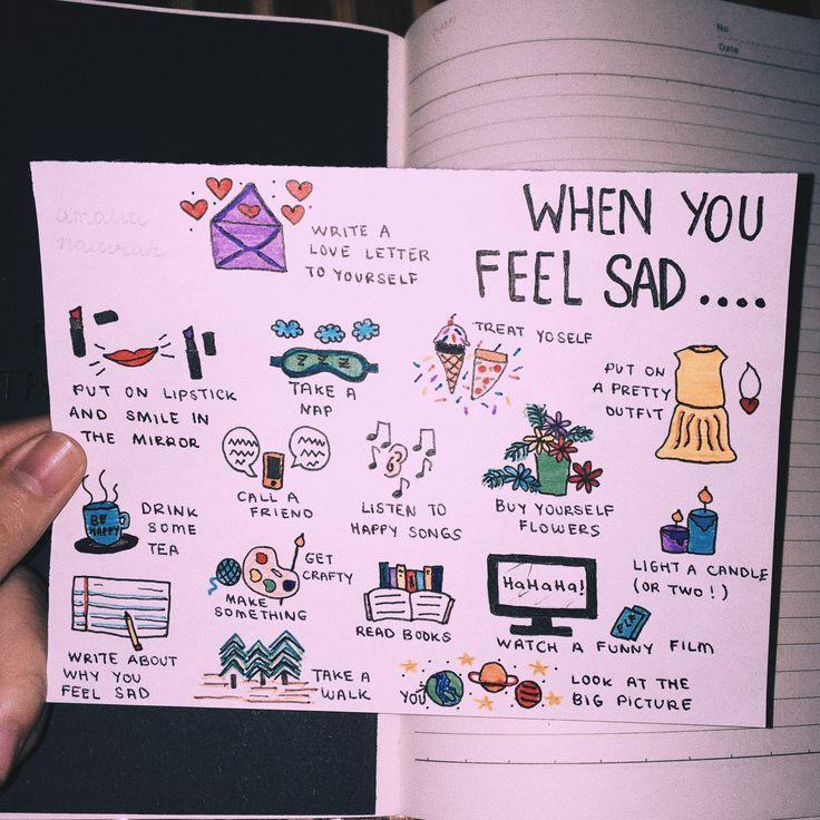 when you feel sad.