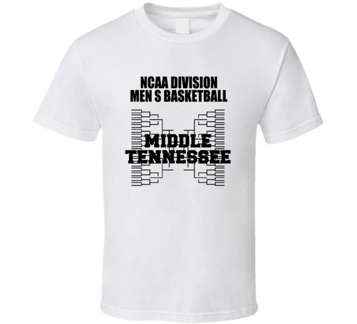 NCAa Madness True Fan Middle Tennessee T Shirt 2XL White. 100% Cotton. Graphics don't fade or crack. North American made. Pre-shrunk.
