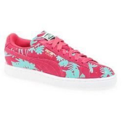 PUMA 'Suede Classic Tropicalia' Sneaker (Women) Womens Paradise Pink 8.5 M -