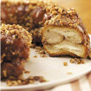 Surprise Monkey Bread Recipe from Taste of Home --- shared by Lois Rutherford of Elkton, Florida