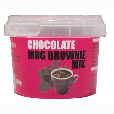 Chocolate mug brownie mixRead More