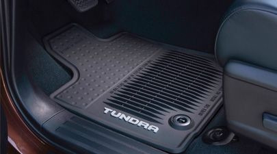 Genuine Toyota Tundra All-Weather Floor Mats PT908-34143-20. 2014-2016 Tundra Double Cab. Genuine Toyota Accessories