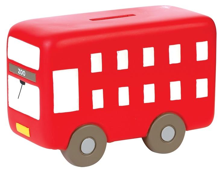 London Bus Money Box