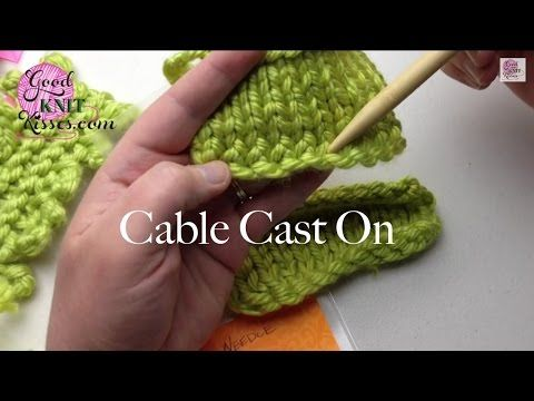 Best 25+ Cable cast on knitting ideas on Pinterest Cable cast on, Casting o...
