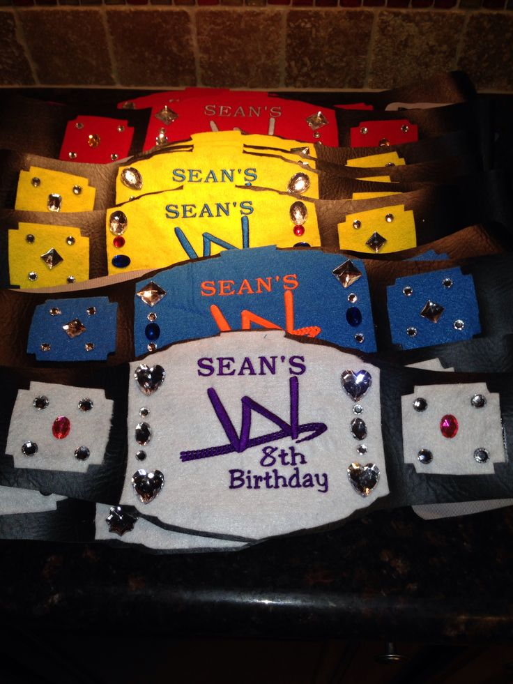 Best 20 Wwe party ideas on Pinterest Wrestling birthday parties