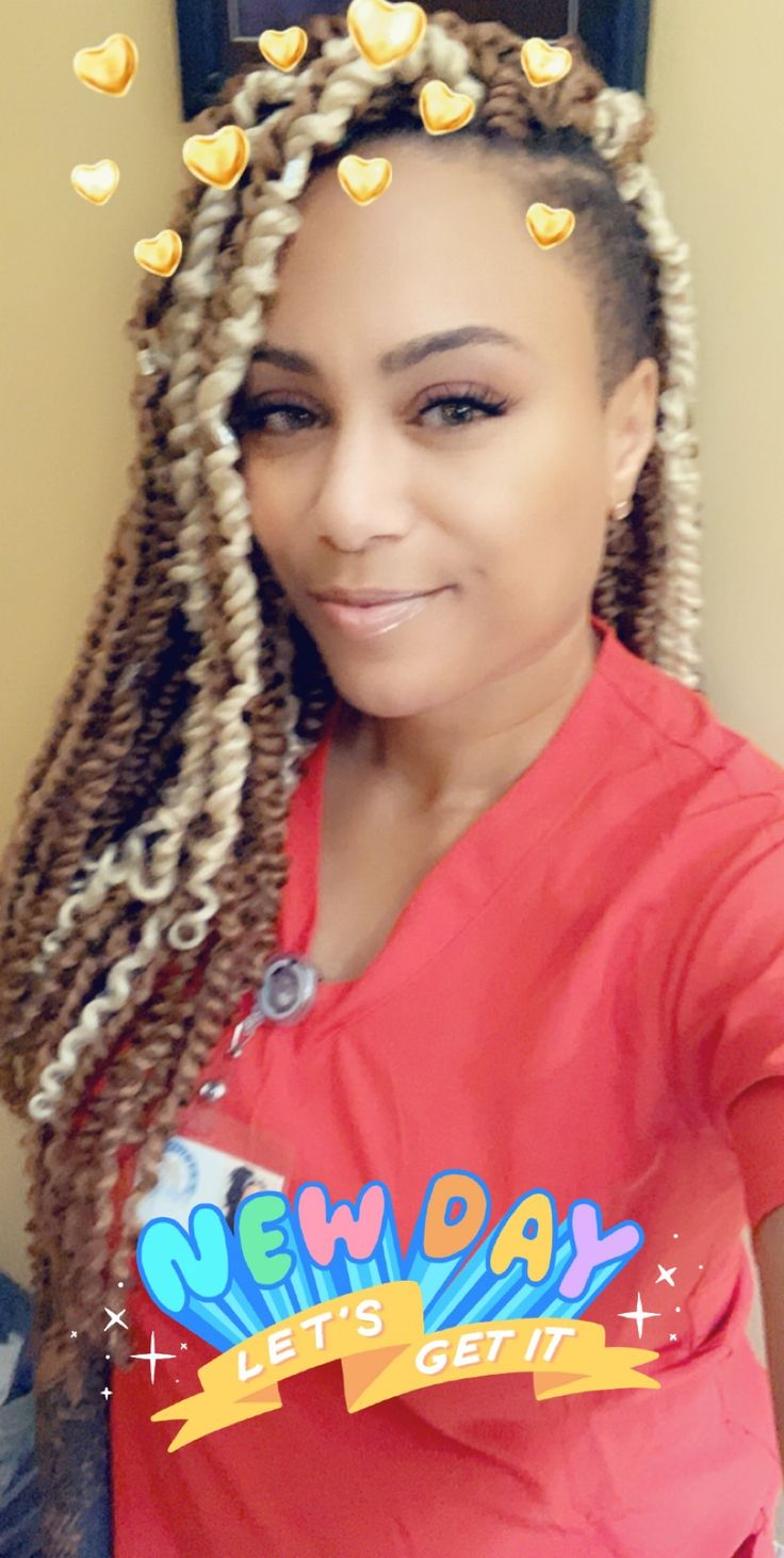 Shaved Sides With Passion Twist Crotchet Braids With