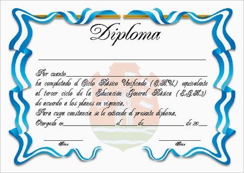 Plantillas de diplomas de reconocimiento para imprimir - Imagui ...