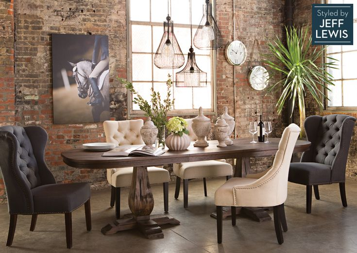 Plush upholstered side chairs provide luxurious seating for Plush living room furniture