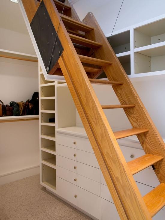 Master Suite And Bath   Modern   Bedroom   San Francisco   Mark Pinkerton    Vi360 · Attic LadderLoft ...