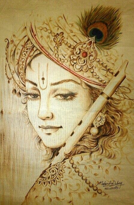 Krishna Art                                                                                                                                                      Mais