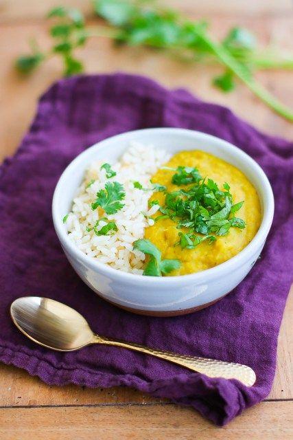 le célèbre plat indien à base de lentilles, rapide et avec le contenu de vos placards !