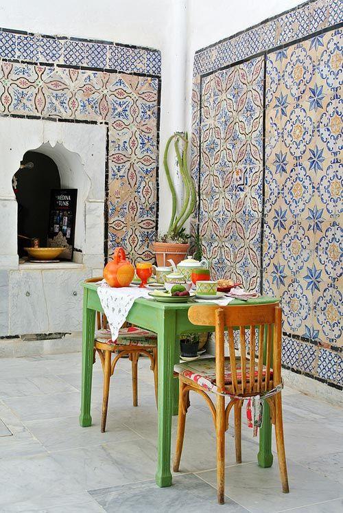 1000 id es sur le th me chambre africaine sur pinterest for Astuces maison tunisie