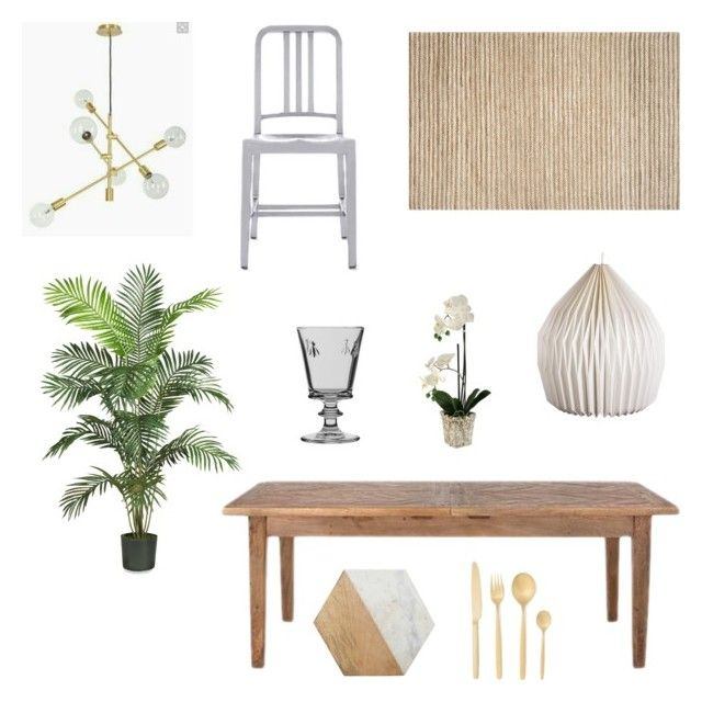 """dining"" by zoe-alexa-robinson on Polyvore featuring interior, interiors, interior design, home, home decor, interior decorating, Safavieh, Design Within Reach, Home Decorators Collection and Broste Copenhagen"