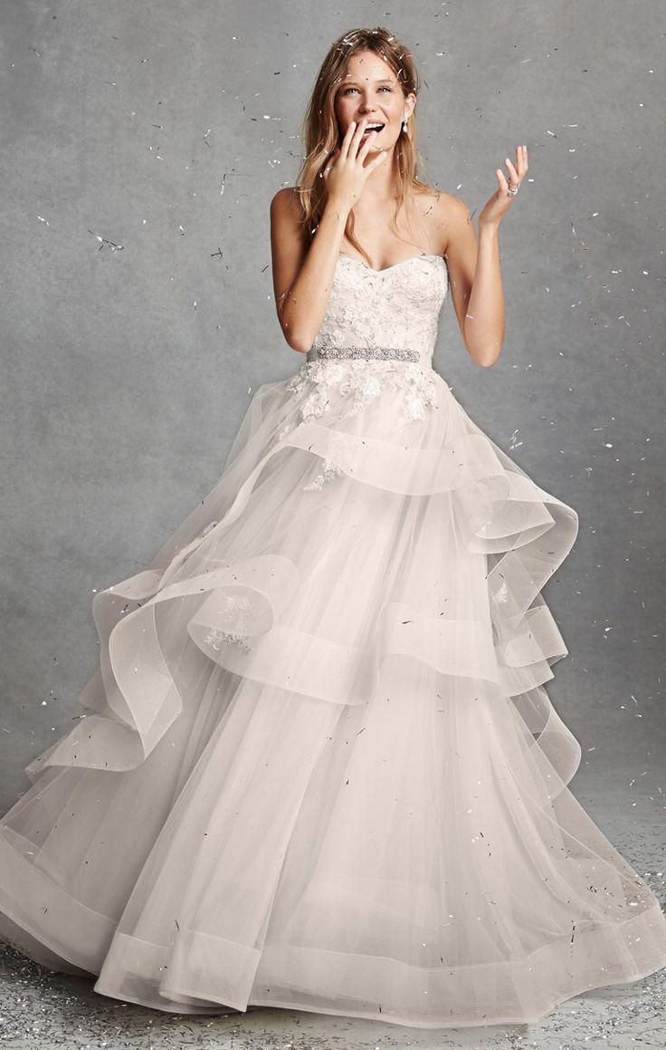 35 best Monique Lhuillier BLISS images on Pinterest | Short wedding ...