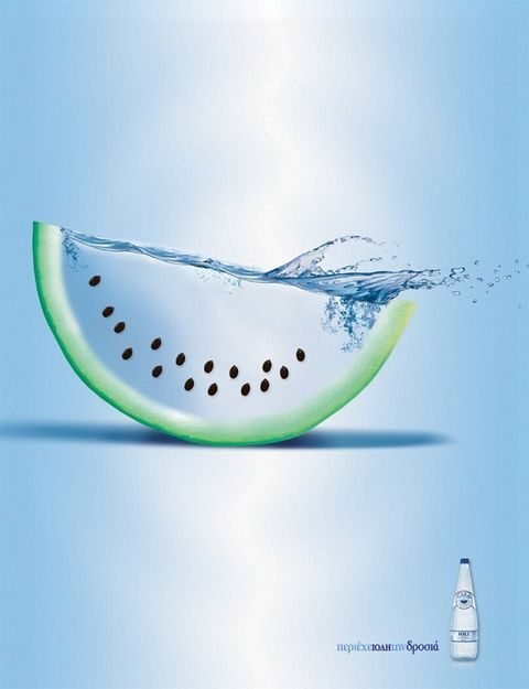 Ioli Natural Mineral Water - Watermelon  For more Advertising Ideas & Tools to get your business moving forward fast! visit www.askadella.com #entrepreneur