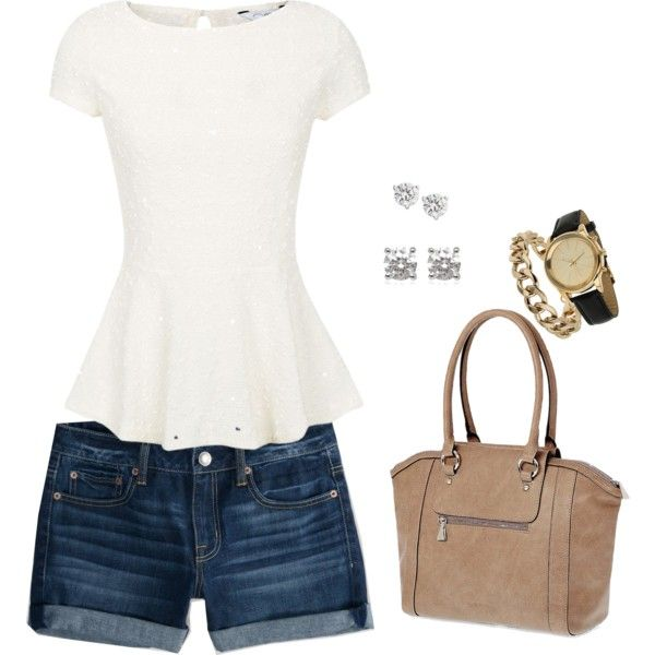 """""""Summer Casual"""" by christinalucasblog on Polyvore ~ Summer 2014 Preview"""