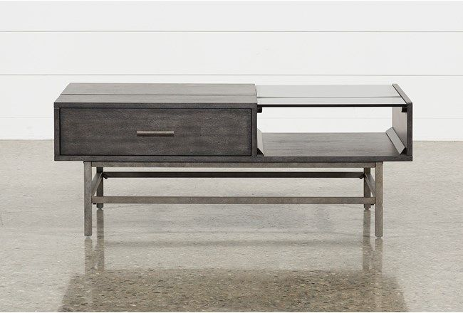 Tracie Lift Top Coffee Table Lift Top Coffee Table Coffee Table Living Spaces Grey Wood Coffee Table