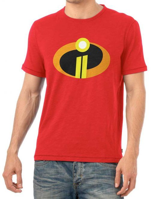 74eb1ecf8 Incredibles 2 Logo Red T Shirt For Men | Juliet outfits | Shirts ...