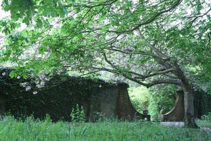 벚꽃나무 영국 윔블던파크에서