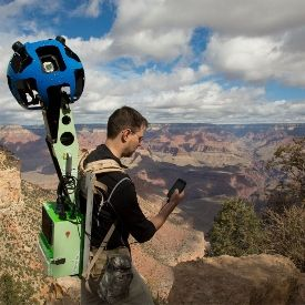 Google Maps Street View Trekker... we cant wait to see this in the trails around Vancouver...or better yet down a ski hill!